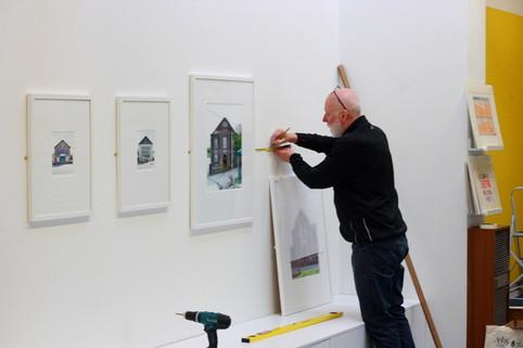 Paul Cabuts hanging CHAPEL