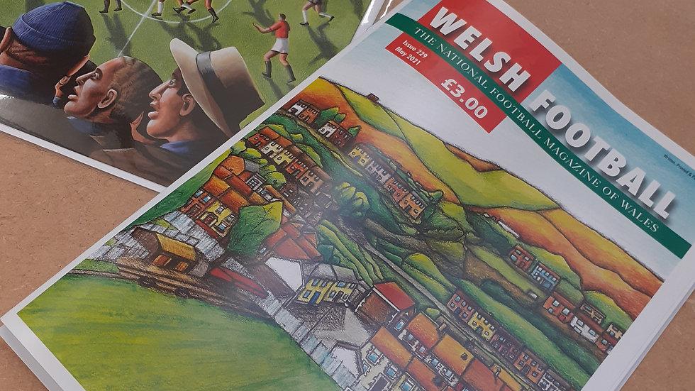 Welsh Football Magazine & Card