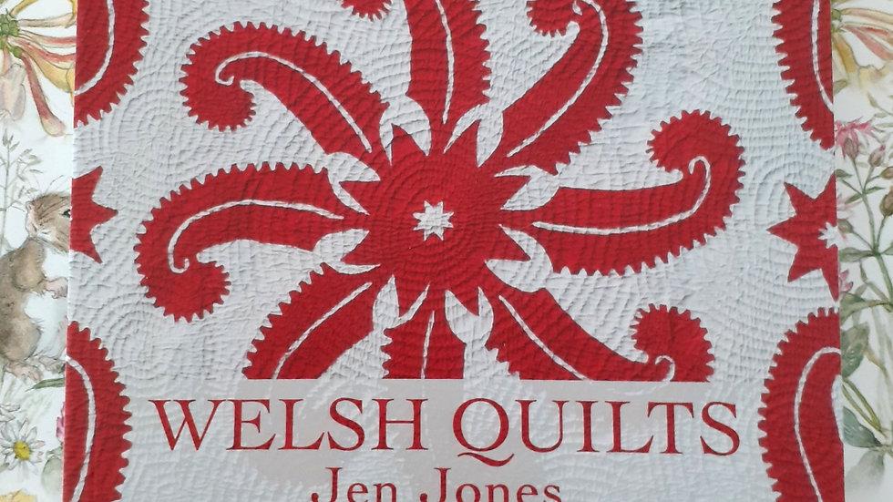 Welsh Quilts Book & Handmade Bookmark