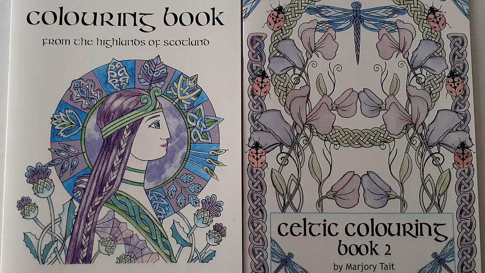 Celtic Colouring Books x 2