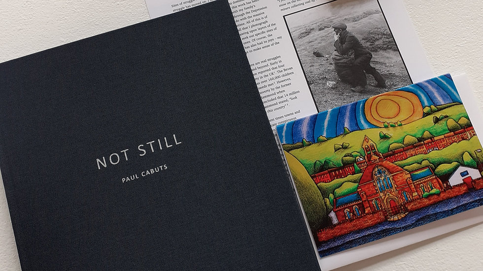 Not Still by Paul Cabuts PHOTOBOOK VALLEYS BUNDLES