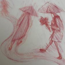 Drawings by Gayle Rogers