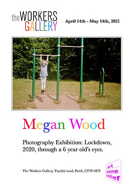 Megan Wood April May 2021 exhibition pos