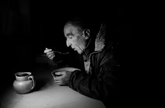 DAVID EATING small town iertia J A Mortr
