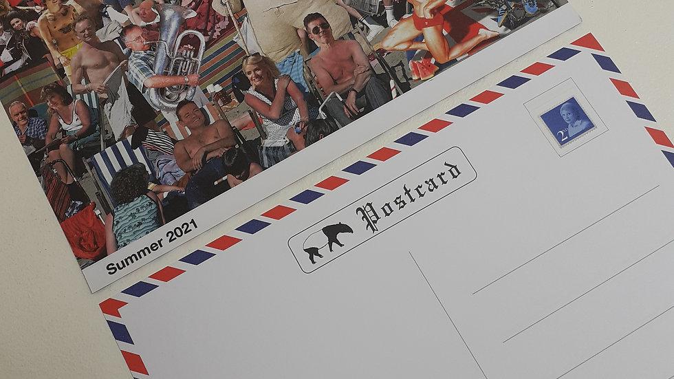 Cold War Steve Jumbo Postcard
