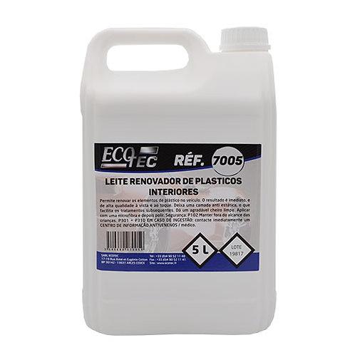 ECOTEC 7005 - Líquido Renovador Plásticos Interior 5lt Cx.4unid