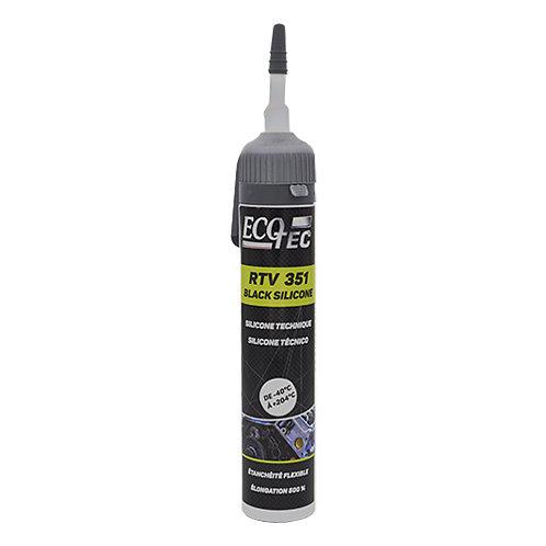 ECOTEC 351 - Silicone para Juntas de Motor Preto 200ml Cx.12unid