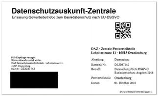 Vorsicht: DSGVO-Abzocke im Fax