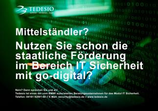 go-digital: Nutzen Sie als Mittelständler die Möglichkeit der staatlichen Förderung im Bereich IT Si