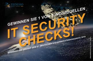 Gewinnen Sie einen von drei individuellen IT Security-Checks