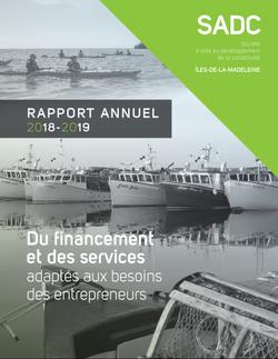 Rapport annuel SADC 2018-2019