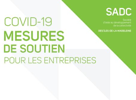 COVID-19 | Mesures de soutien pour les entreprises
