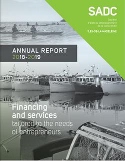 SADC Annual report 2018-2019