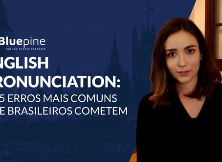 English pronunciation: os 5 erros mais comuns que brasileiros cometem