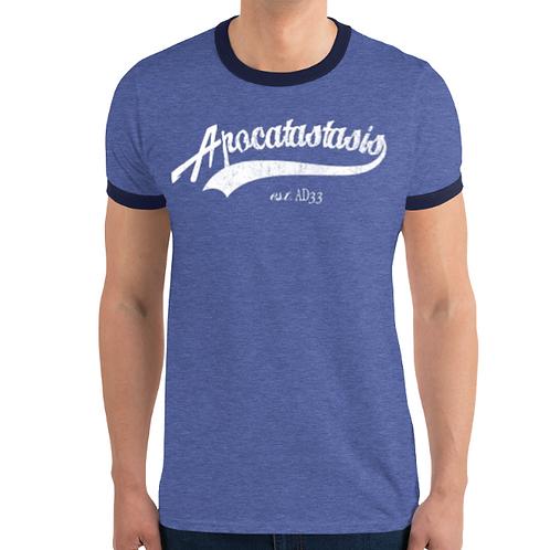 Apocatastasis Sports Ringer Shirt