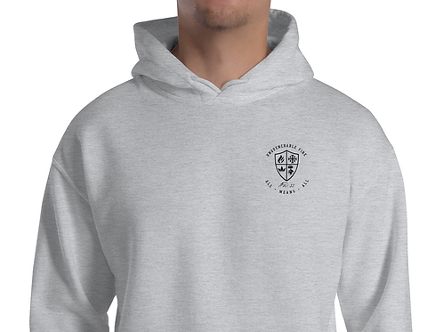 Unquenchable Fire embroidered hoodie