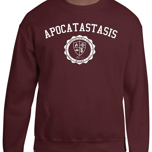 Apocatastasis Stamp crewneck