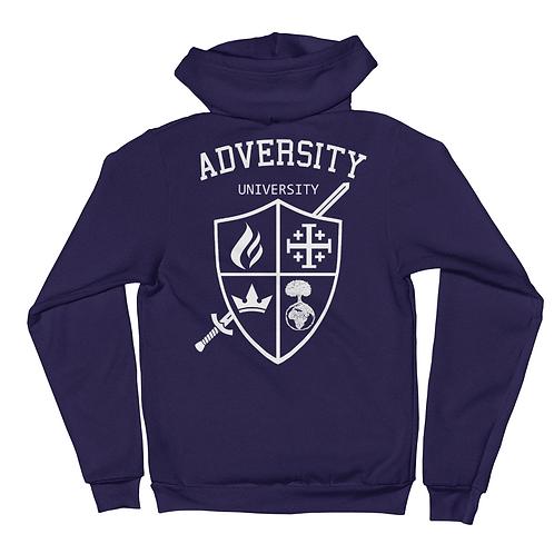 Adversity University zip hoodie