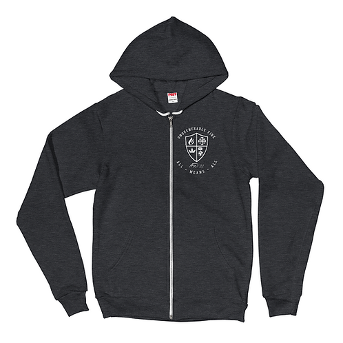 Unquenchable Fire zip hoodie