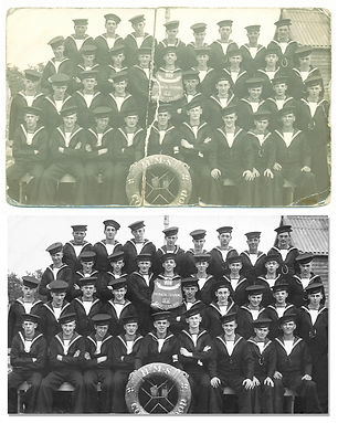 Navy photo restoration