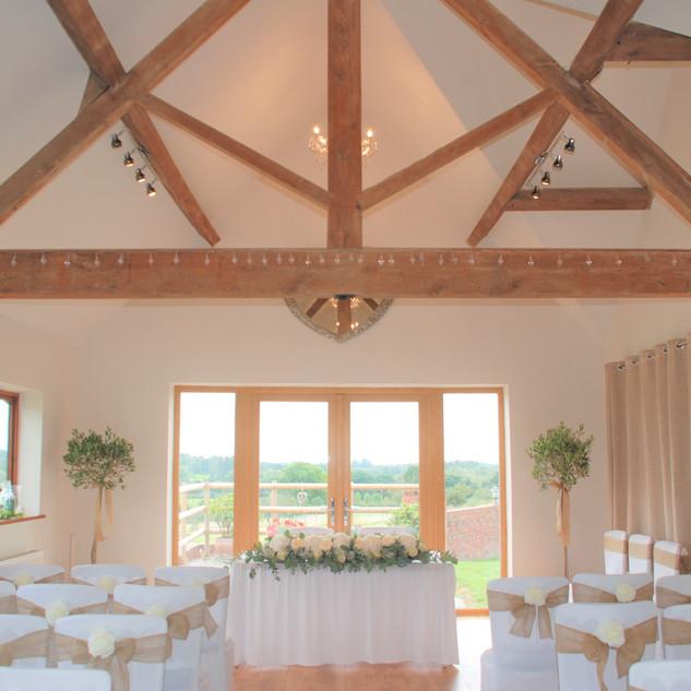 DSC_0194.JPGTudor Barn Ceremony Room at Bordesley Park Wedding Venue Worcestershire