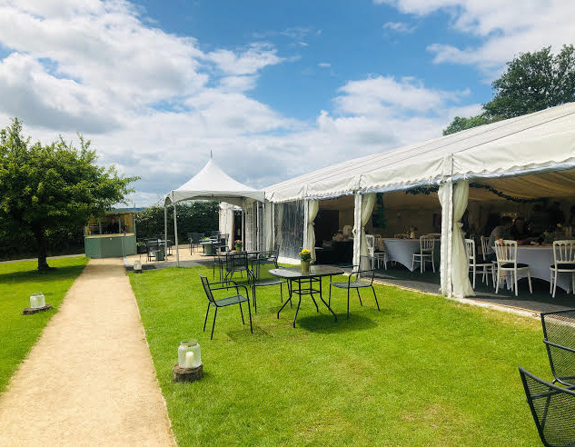 Luxury Marquee at Bordesley Park Wedding Venue Worcestershire