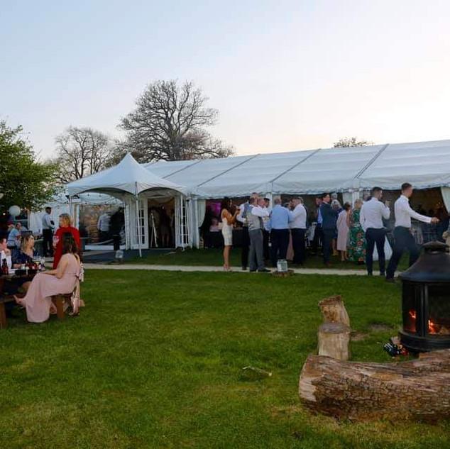 Luxury Marquee at Bordesley Park Wedding Venue Worcestershire