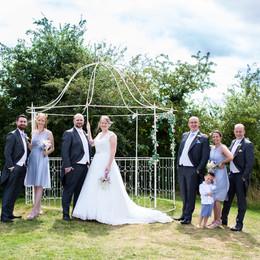 Finishing Touches at Bordesley Park Wedding Venue Worcestershire