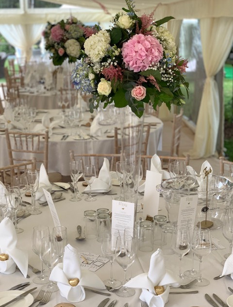 Celebration Caterers at Bordesley Park Wedding Venue