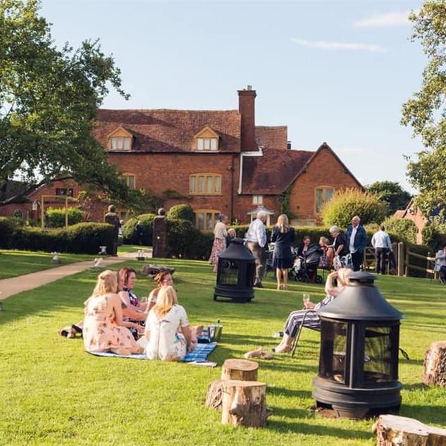 Grounds at Bordesley Park Wedding Venue Worcestershire