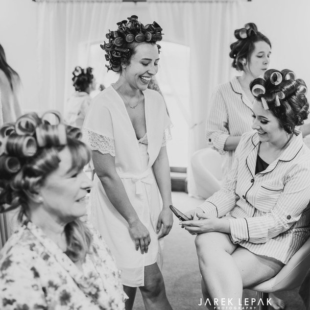 Bridal Preparation Room at Bordesley Park Wedding Venue West Midlands