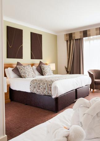 Abbey Hotel Just 600 yards from Bordesley Park Wedding Venue