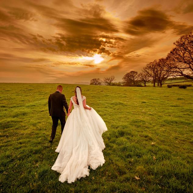 Field Shots at Bordesley Park Wedding Venue Worcestershire