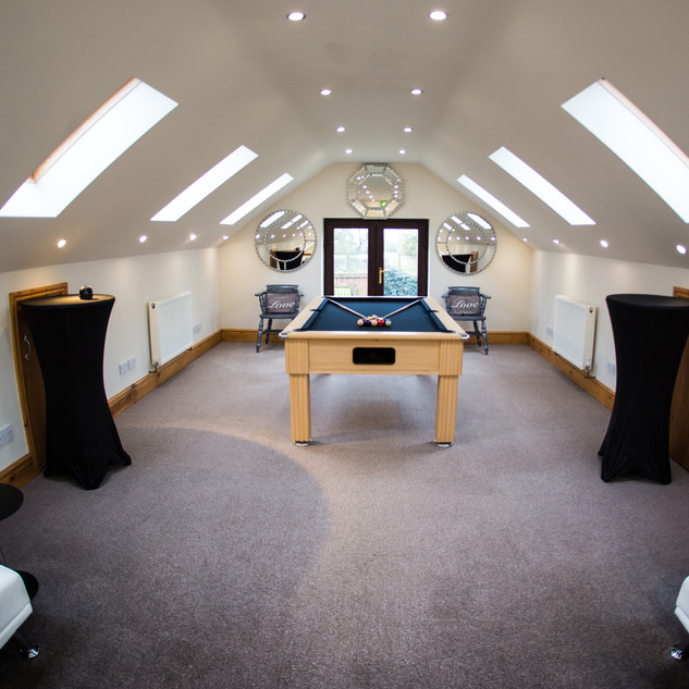 Room For The Groom at Bordesley Park Wedding Venue Worcestershire