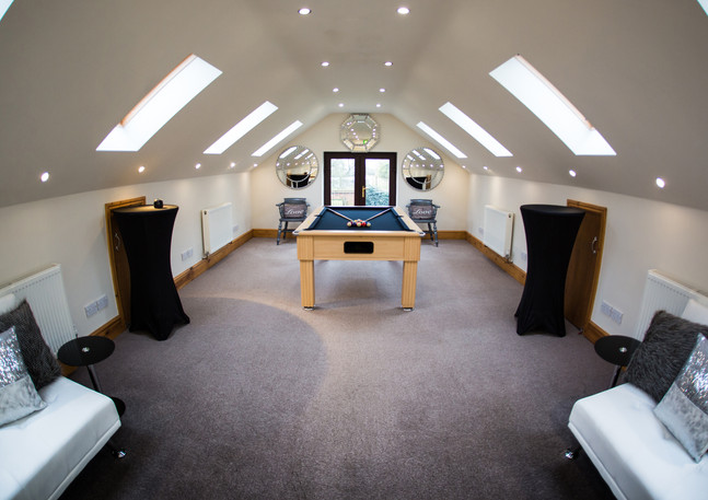 Room For The Groom at Bordesley Park Wedding Venue Redditch