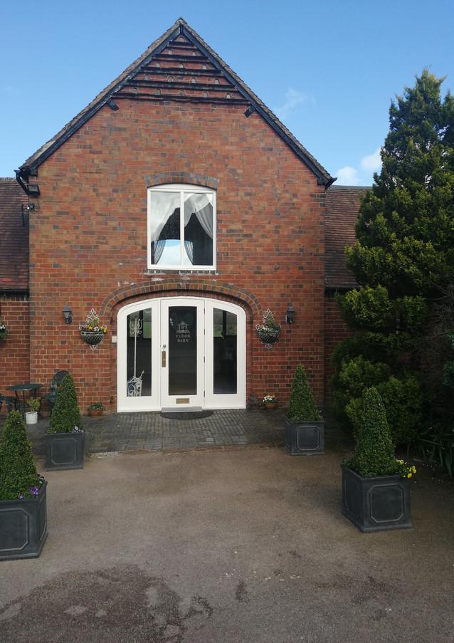 Tudor Barn Ceremony Room at Bordesley Park Wedding Venue Redditch