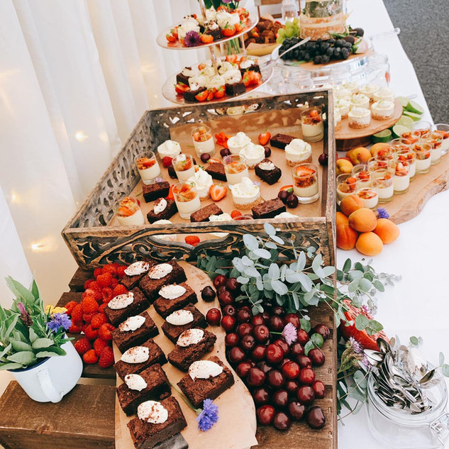 Sticky Fig Catering Co. at Bordesley Park Wedding Venue