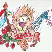 Koningsdag tekening Ayleen.jpg