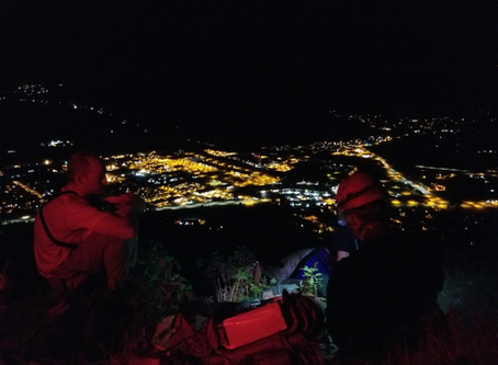 CCSO - SAR Rescue Juvenile off Mt. Elden