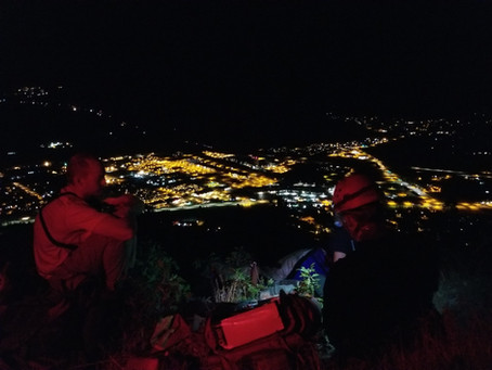 CCSO - SAR Rescue Juvenile off Mt. Elden