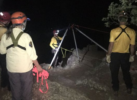 Sheriff's Office Experiencing Increased Search and Rescue Activity