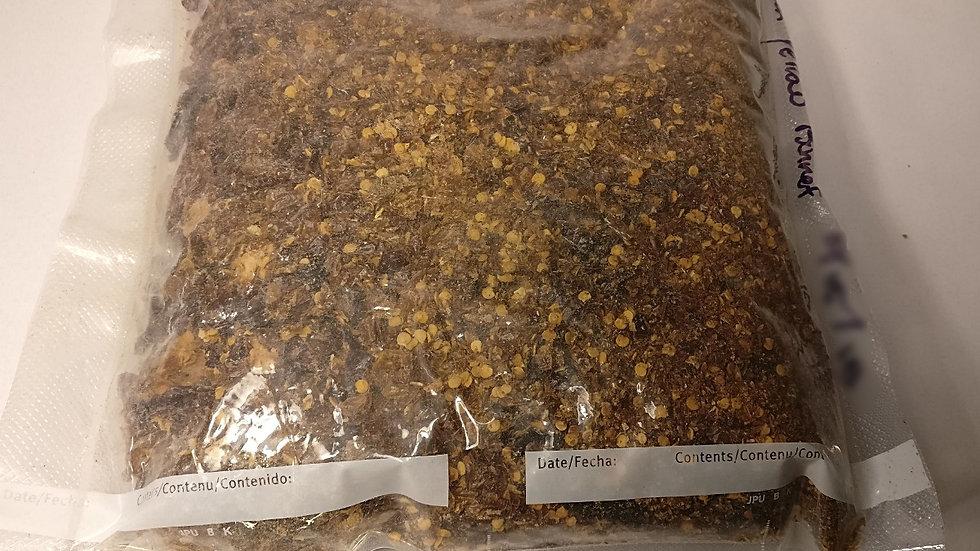 Pecan Smoked Yellow Scotch Bonnets, 1 lb Flakes