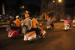 Vespa adventure tour in Saigon