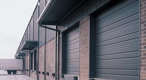 24 Gauge Steel Heavy Duty Overhead Door