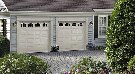 Traditional Steel Garage Door