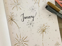 ONE YEAR OF BULLET JOURNALING