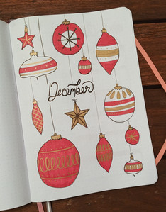 December 2018 - again inspired by Amanda; not super crazy about how mine turned out, but it's still kind of cute