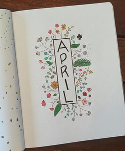 April 2019 - super obsessed with this one as well - inspo. image linked.