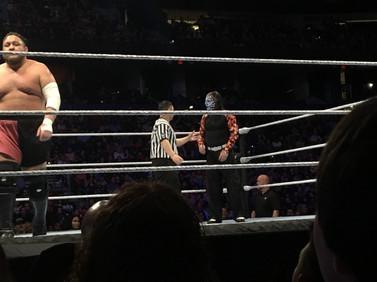 December 30th: WWE LIVE - Samoa Joe and Jeff Hardy (!!)