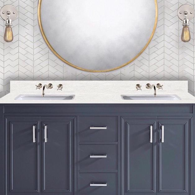 Master Bath Vanity Elevation